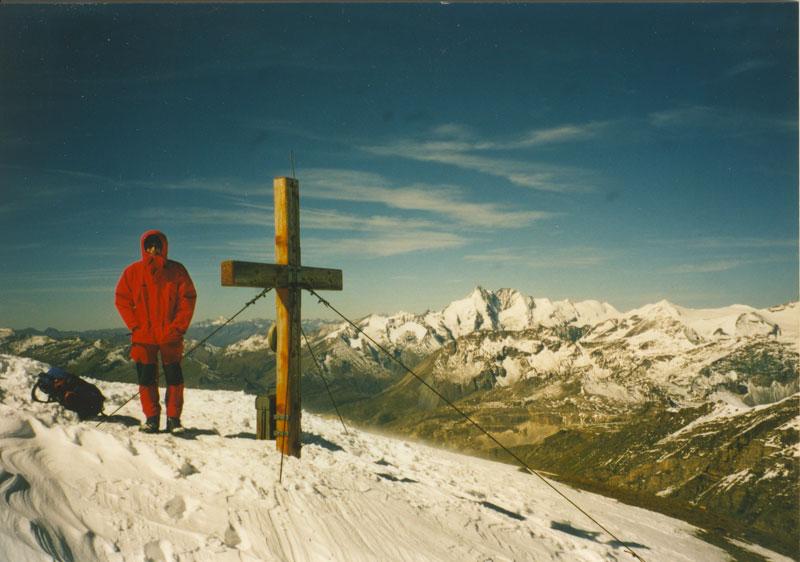 On the summit of Hocharn