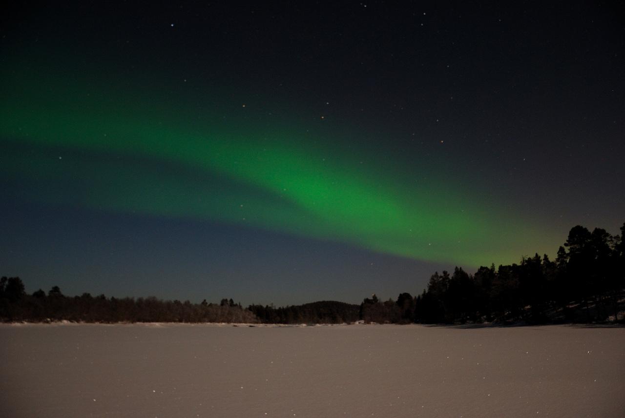 Northern Lights Above Inari