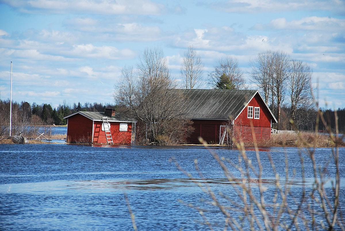 Flood in Rovaniemi