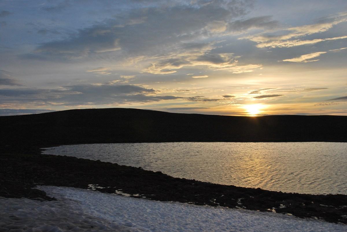 Pyhäkero, Lake on the Summit