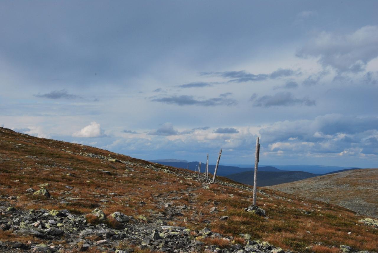 Pallas-Hetta - Marked Trail