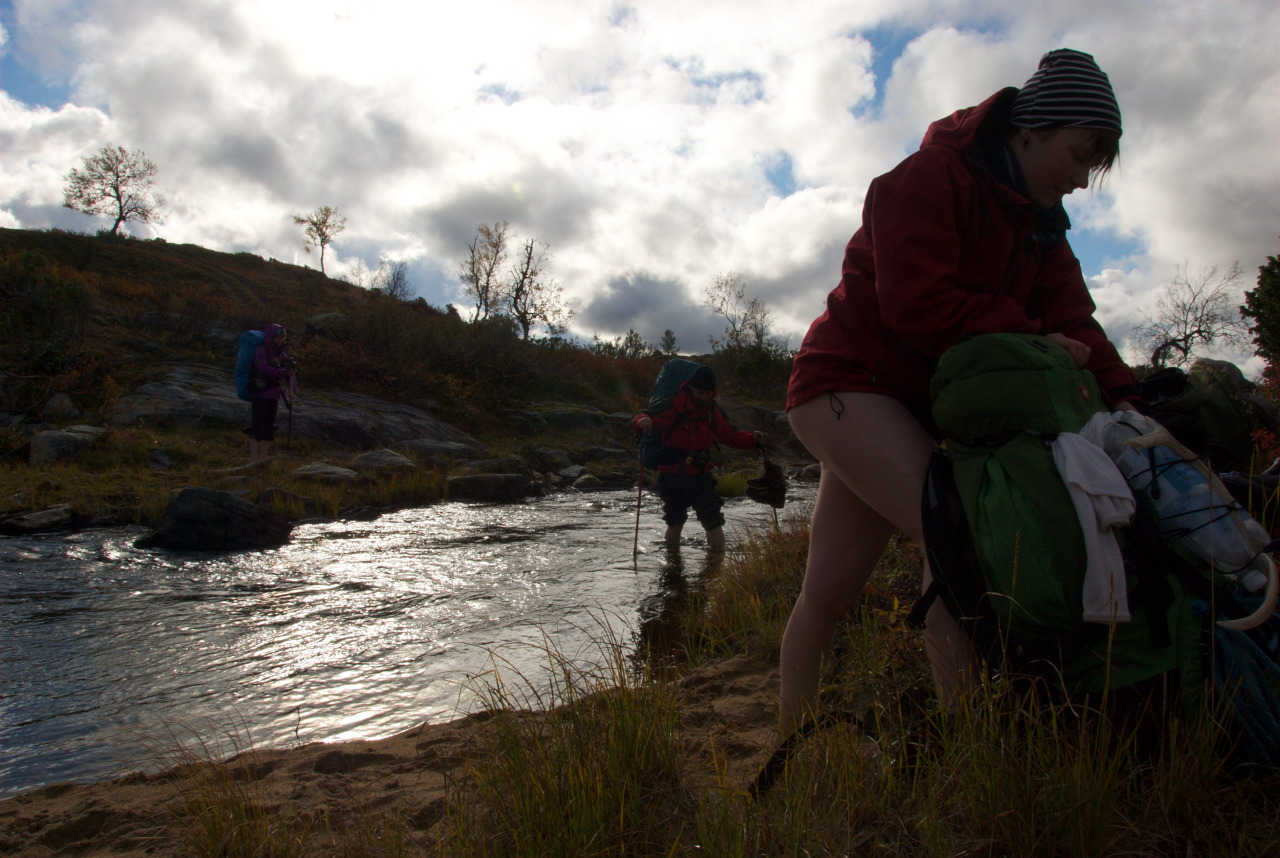 Crossing Suomajoki
