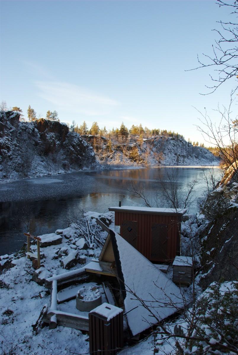 Laavu at Pahtajärvi