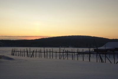 Ounasjärvi in Hetta