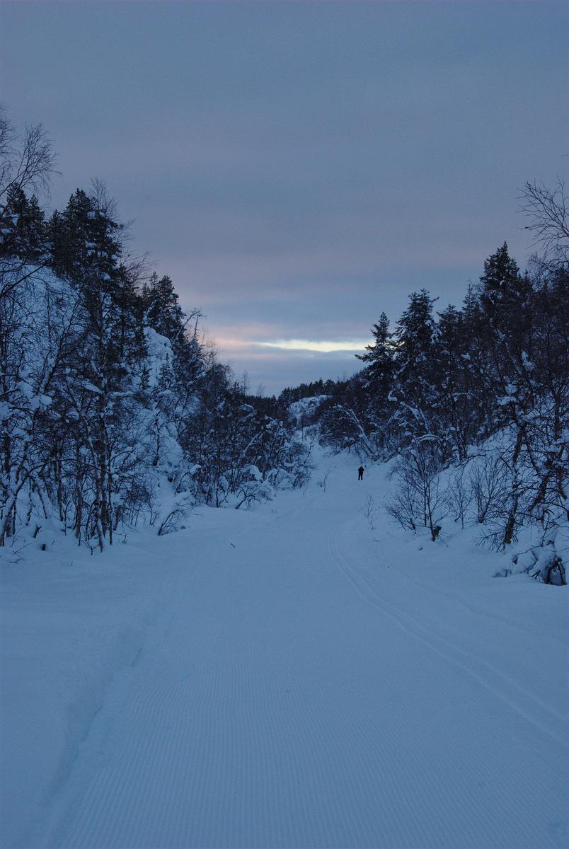 Going down to Pahtajärvi