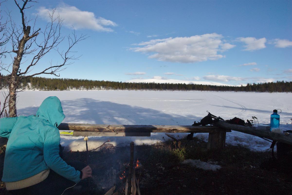 Grilling at Rautujärvi