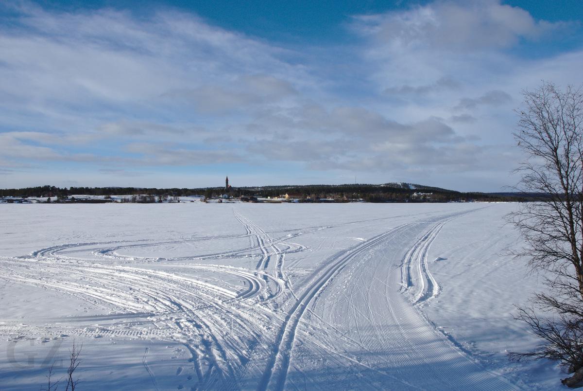 Lake Ounasjärvi