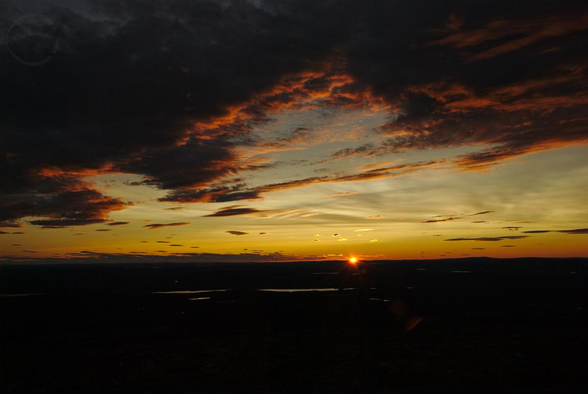 Night sky on Pyhäkero