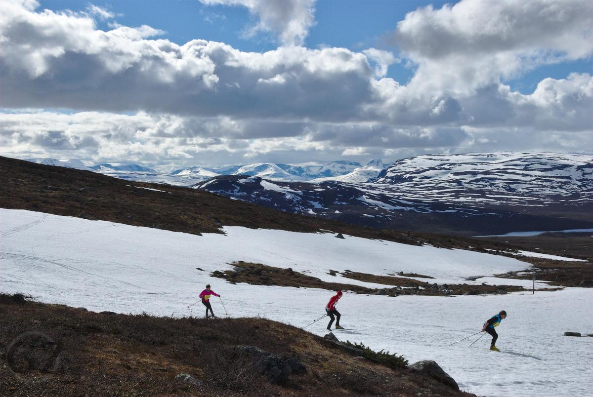 Midsummer Skiing