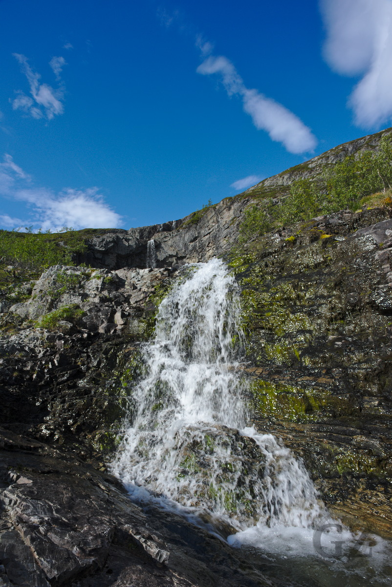Waterfall on Malla