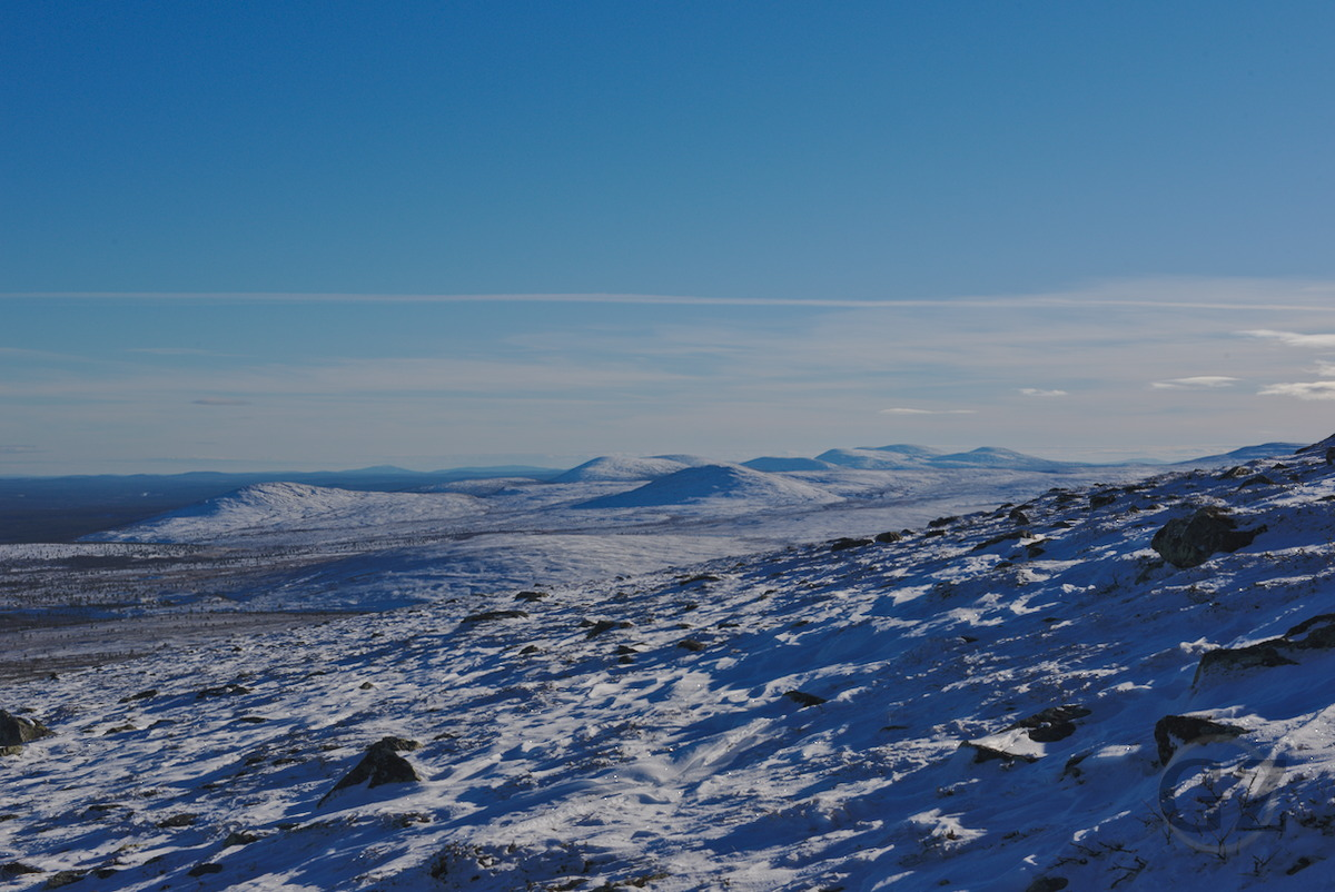 Snow covered fells