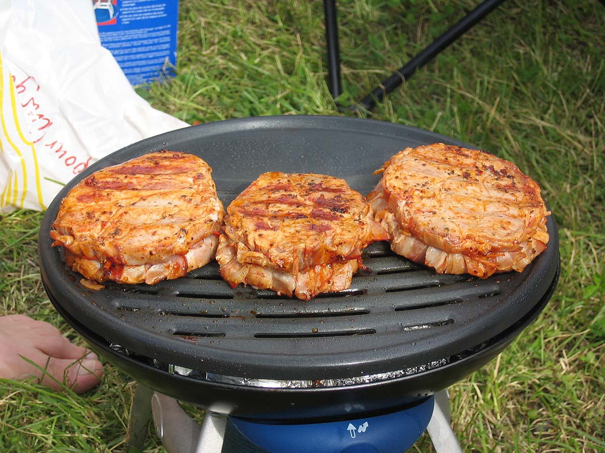 BBQ at the Festival Campside