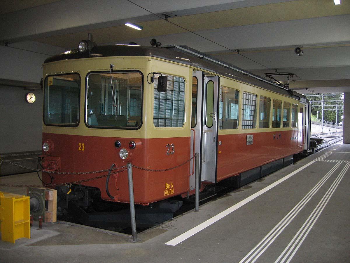 Railway to Mürren