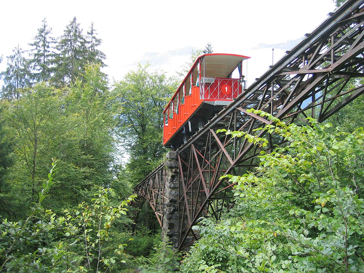 Giessbach Cable Railway