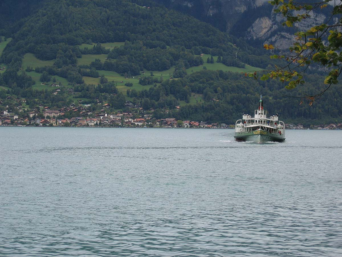 Taxi on Lake Brienz