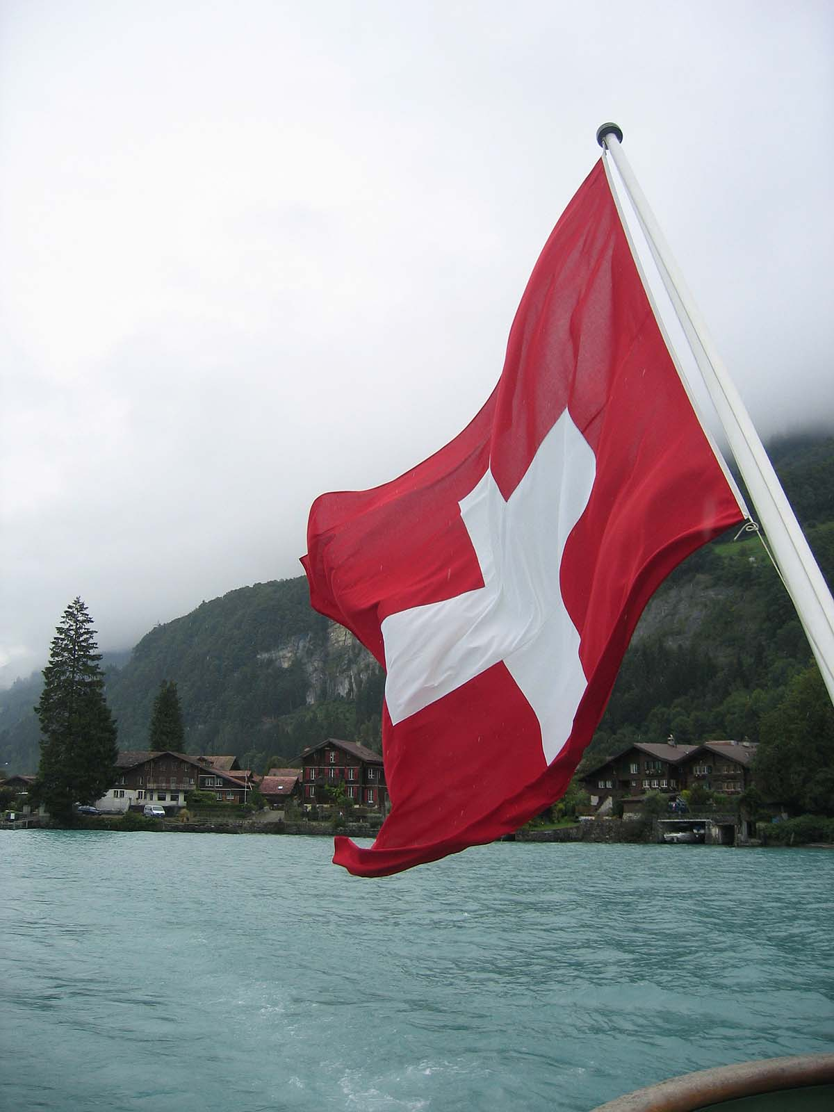 On Lake Brienz