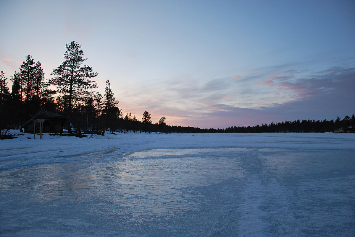 Laavu at Rautujärvi