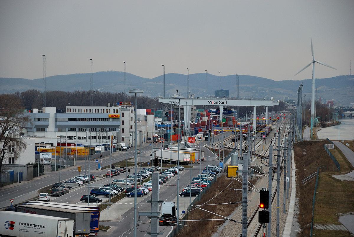 Container Terminal, Vienna