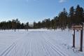Old skiing tracks