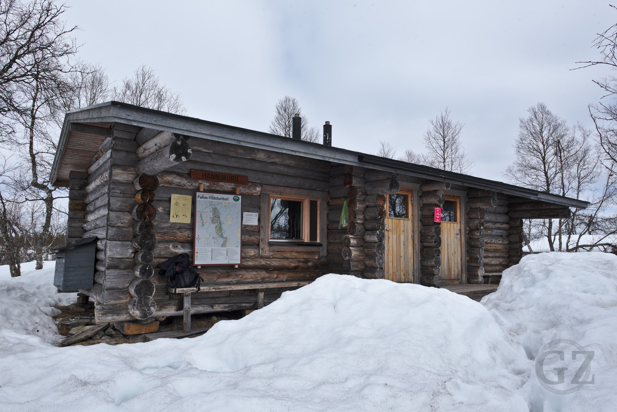 Hannukuru open wilderness hut