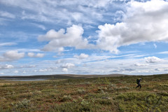 Hiking in the Tundra